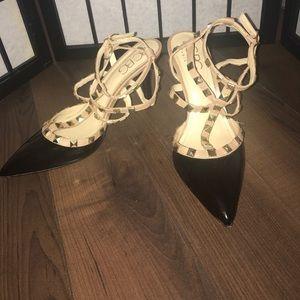 BCBG Generation Darron Studded Pump Black Heels